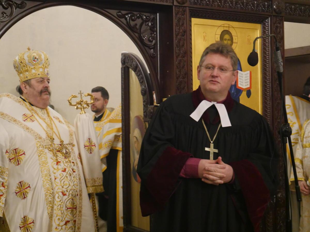 bp Jerzy Samiec, prezes Polskiej Rady Ekumenicznej