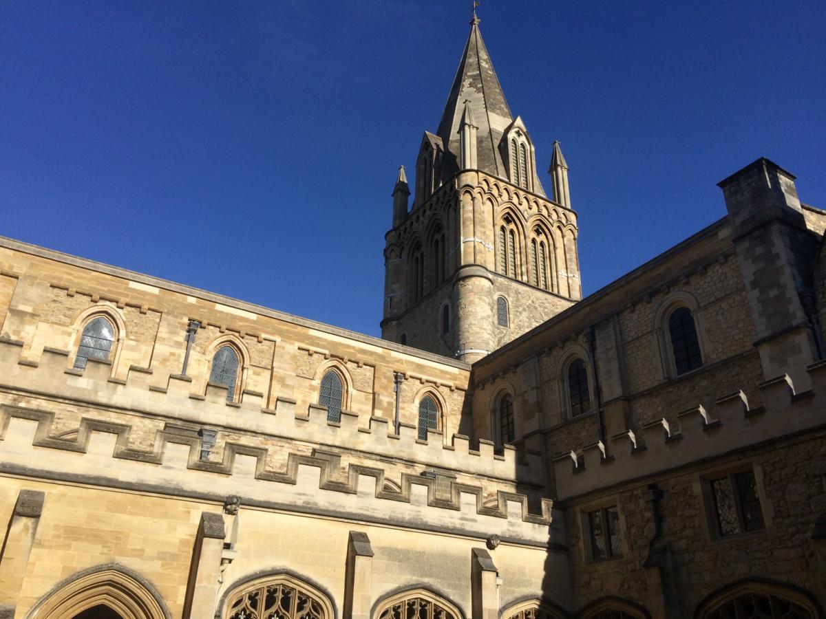 anglikańska Katedra Chrystusa w Oksfordzie