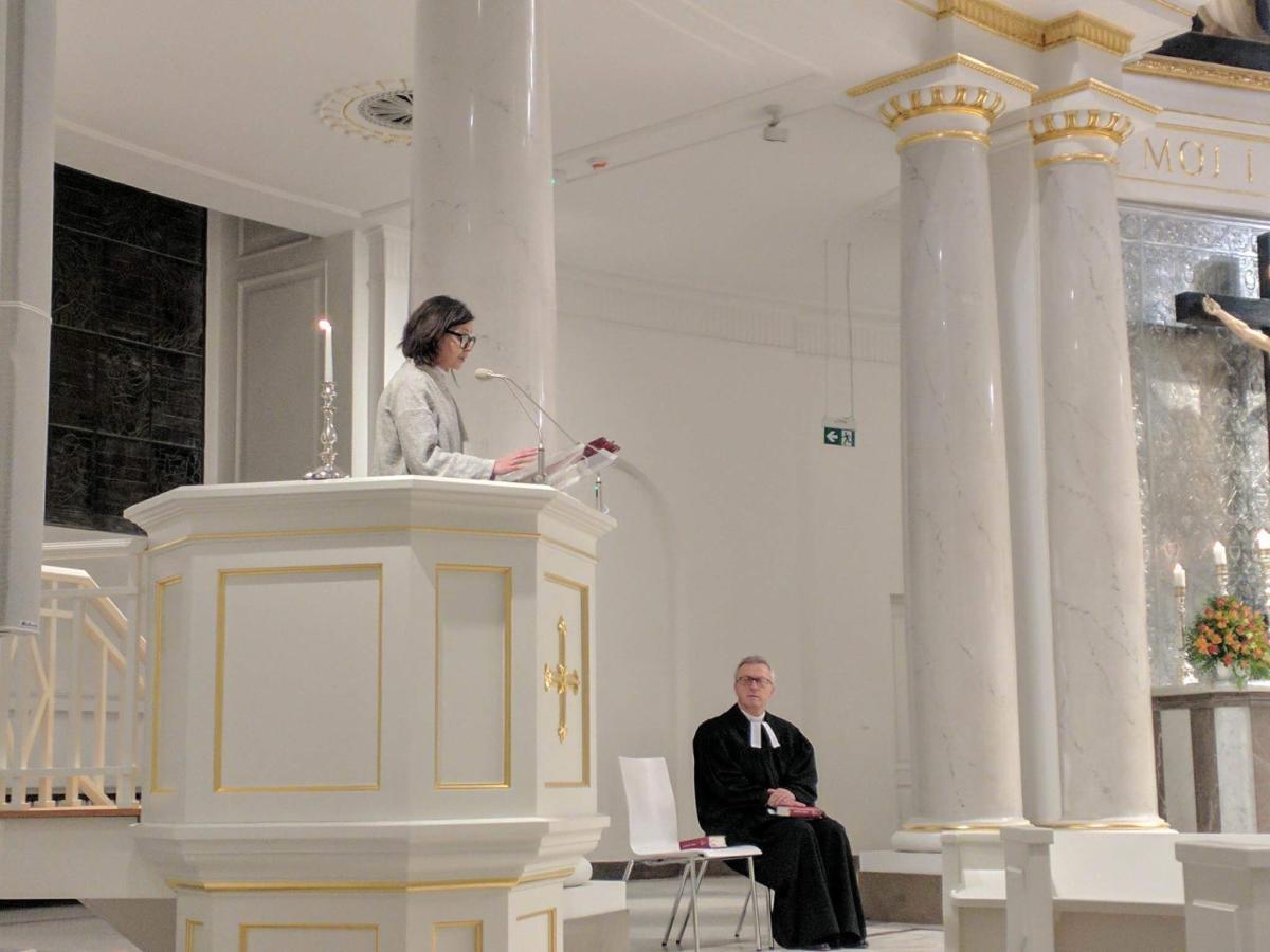 nabożeństwo ekumeniczne w kościele ewangelicko-augsburskim Świętej Trójcy w Warszawie - 5 lutego 2018 r.