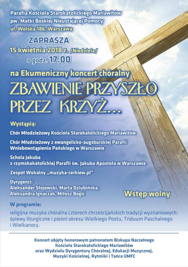 Ekumeniczny koncert chóralny
