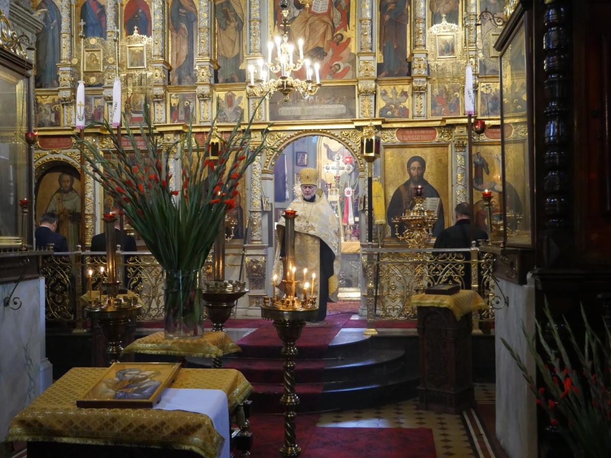 Ekumeniczne nieszpory w katedrze prawosławnej Przemienienia Pańskiego w Lublinie