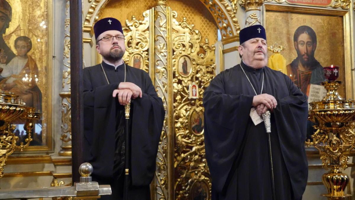 Ekumeniczne nieszpory w katedrze prawosławnej Przemienienia Pańskiego w Lublinie - abp Paisjusz (Martyniuk) o abp Abel (Popławski)