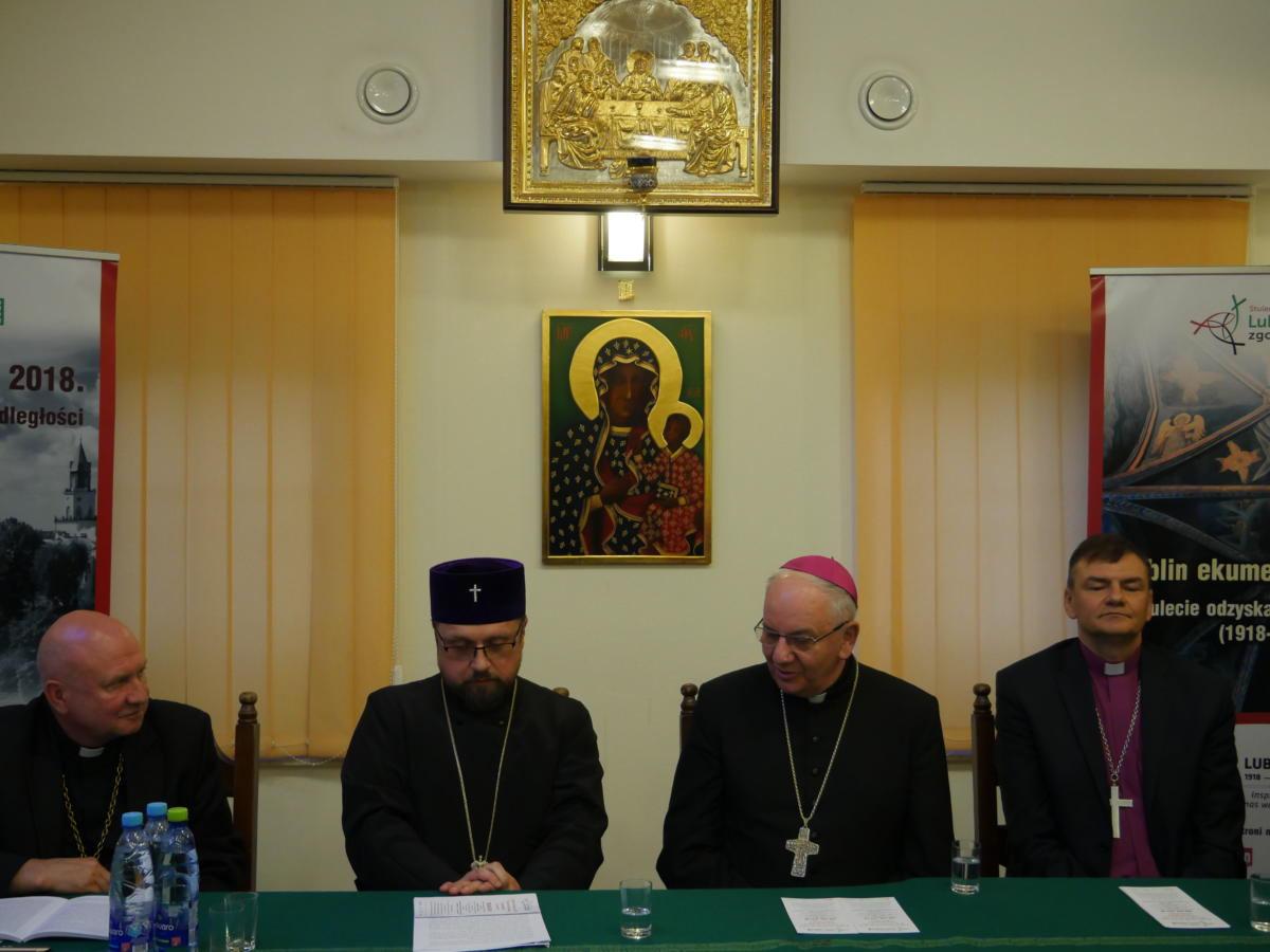 Ekumeniczna debata czterech biskupów