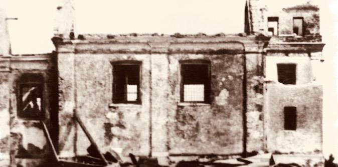 Zburzona w 1938 r. cerkiew we wsi Pokrówka (pow. chełmski)