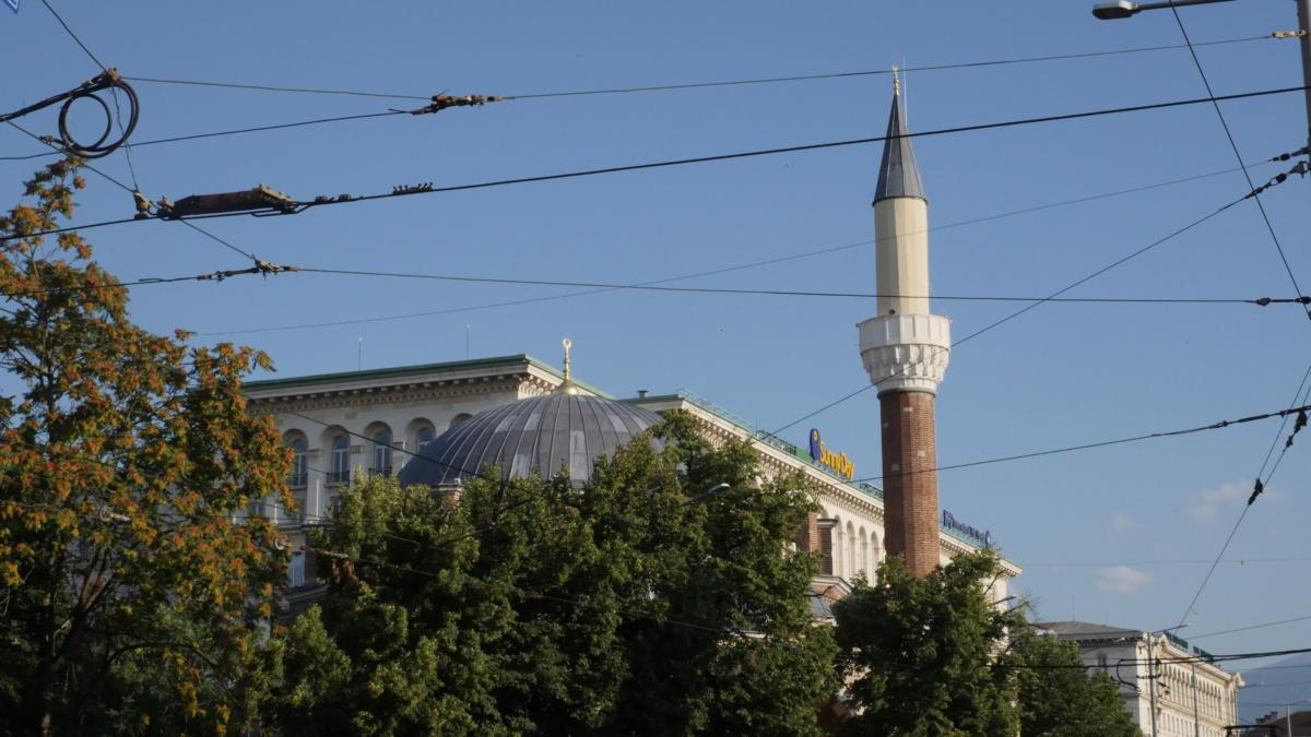 centralny meczet w Sofii przy stacji Serdika