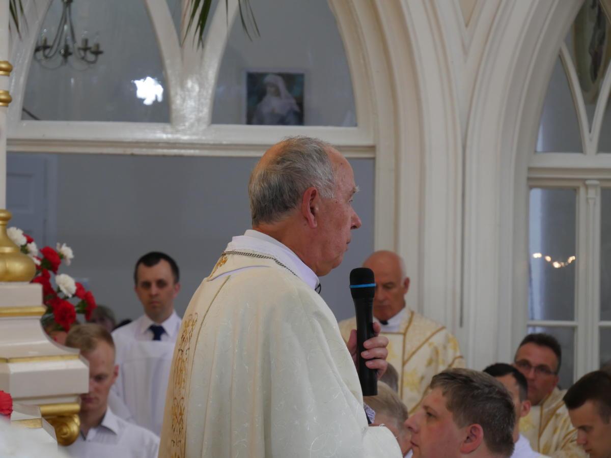 rozważanie spowiednie przed Komunią - bp M. Ludwik Jabłoński