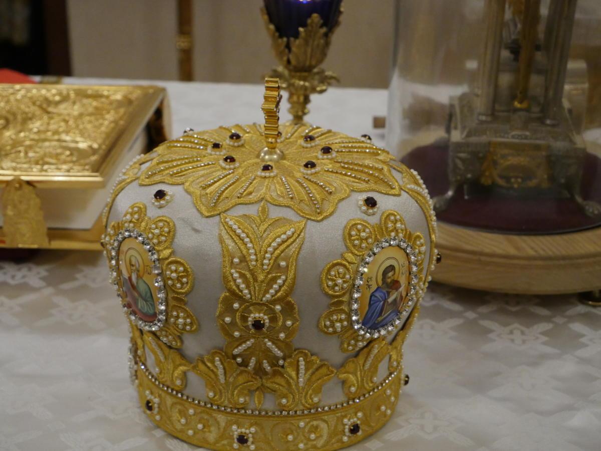mitra biskupa prawosławnego