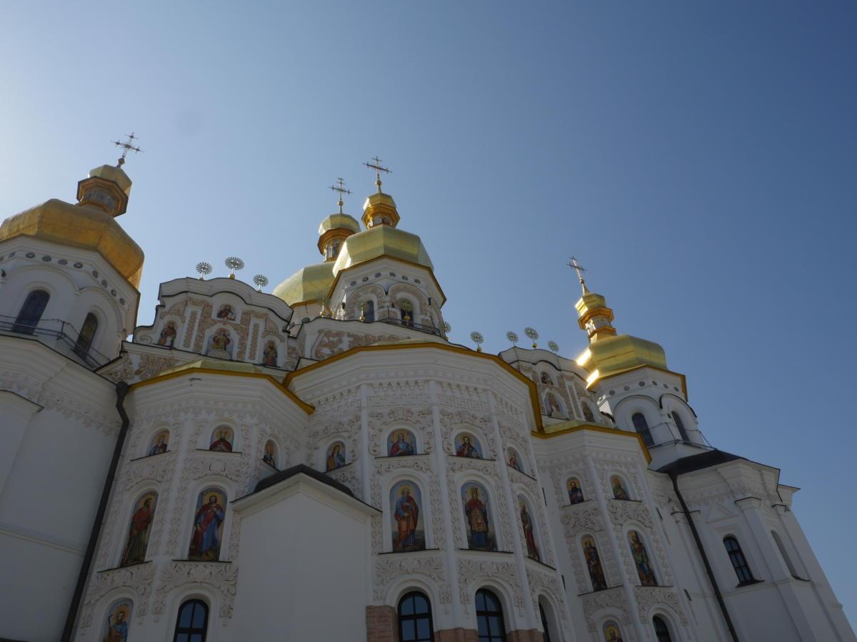 Sobór katedralny Zaśnięcia NMP (Ławra Peczerska_ - Ukraińska Cerkiew Prawosławna Patriarchatu Moskiewskiego
