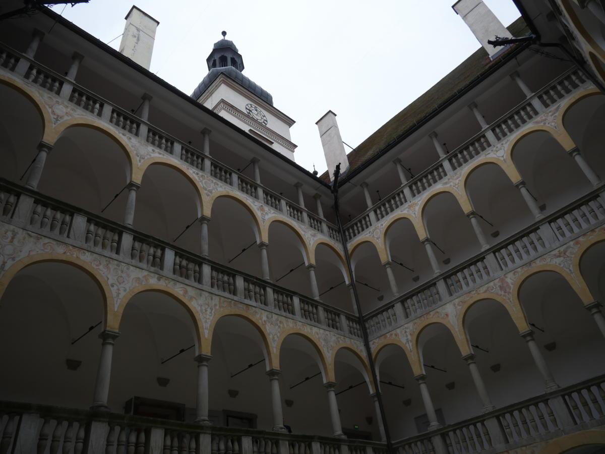 Wnętrze Zamku Hartheim