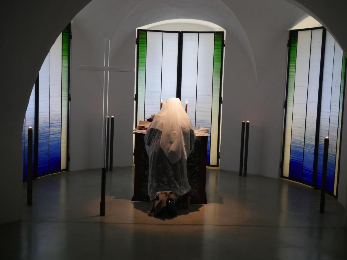 Msza Święta Ludowa w Kaplicy Zamku Hartheim