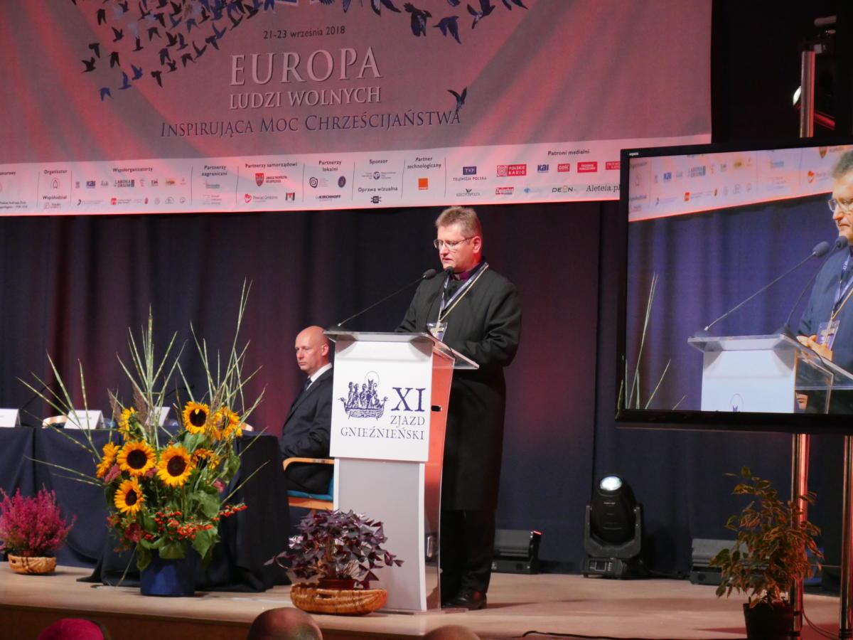 przemówienie prezesa PRE, bp. Jerzego Samca