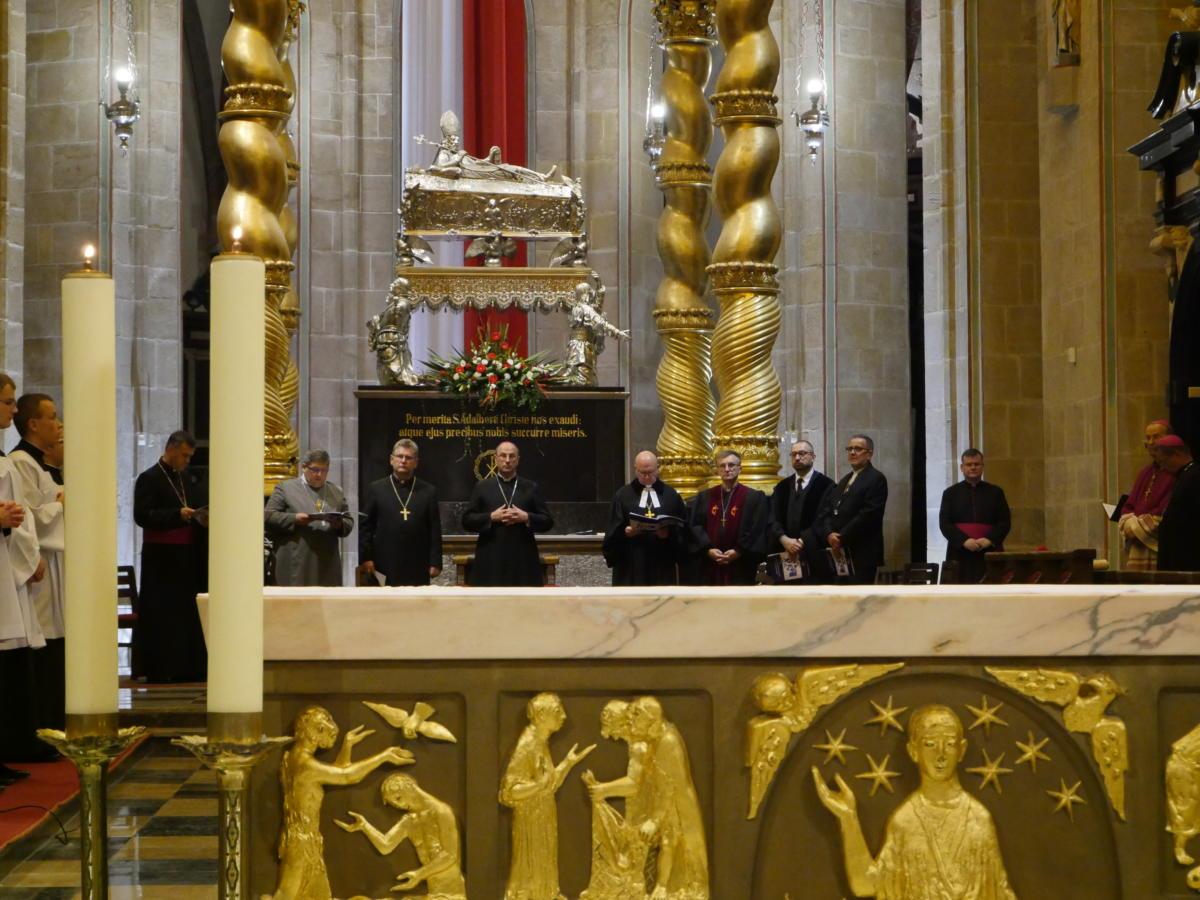 modlitwa ekumeniczna w katedrze gnieźnieńskiej
