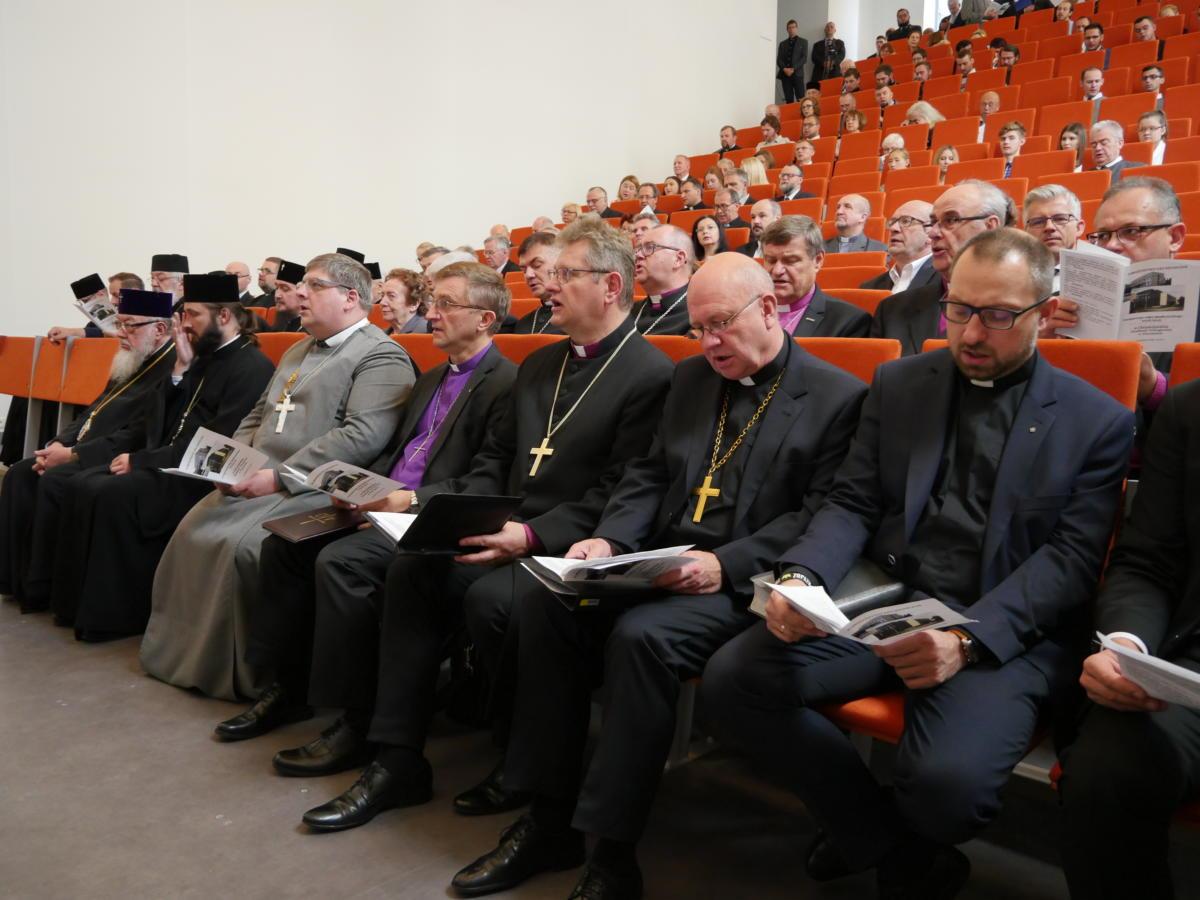 przedstawiciele Polskiej Rady Ekumenicznej