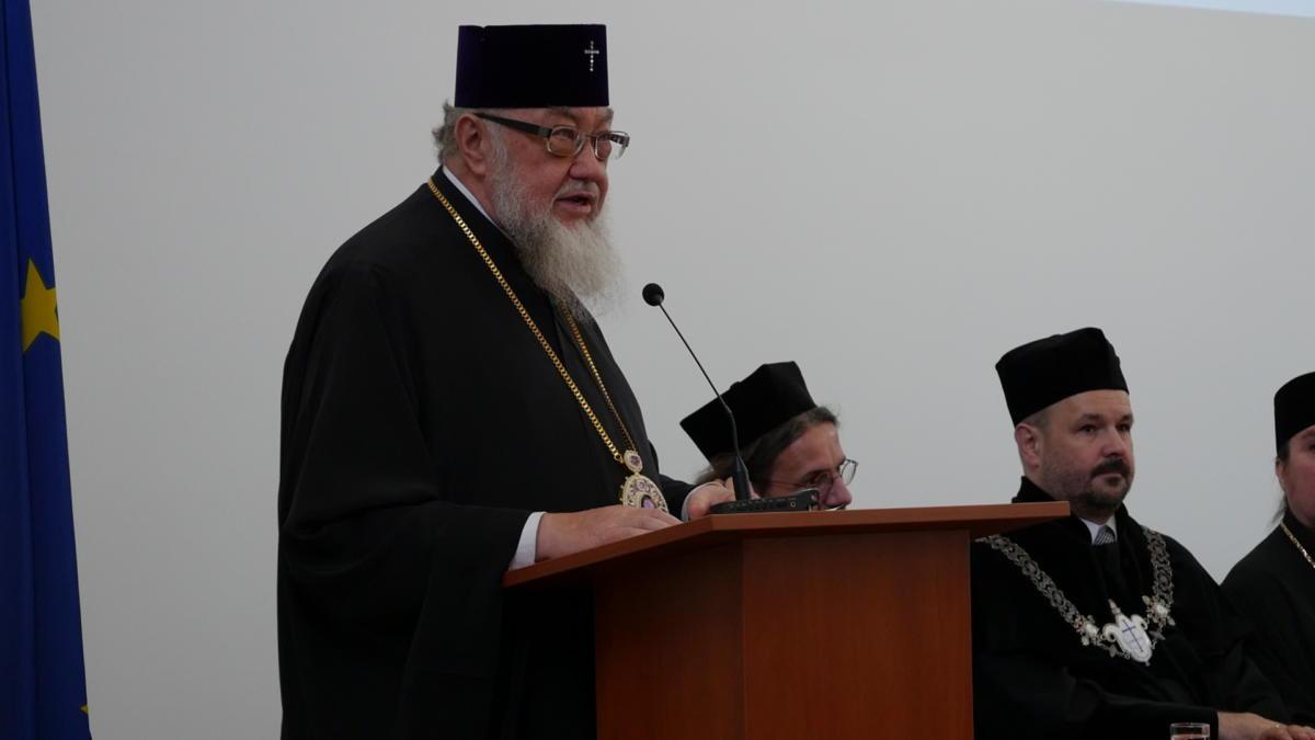wykład inauguracyjny metropolity Sawy