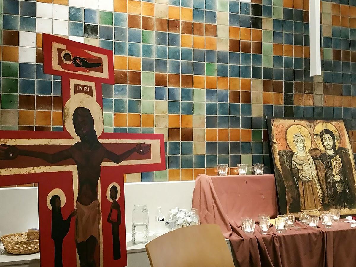 24-godzinne nabożeństwo w obronie uchodźców w haskim centrum kościelnym Bethelkerk