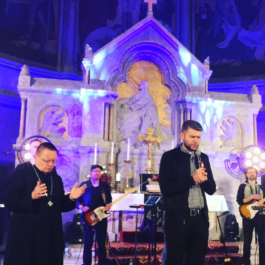 Ekumeniczny Wieczór Uwielbienia z zespołem Exodus15 - kościół ewangelicko-augsburski św. Mateusza w Łodzi