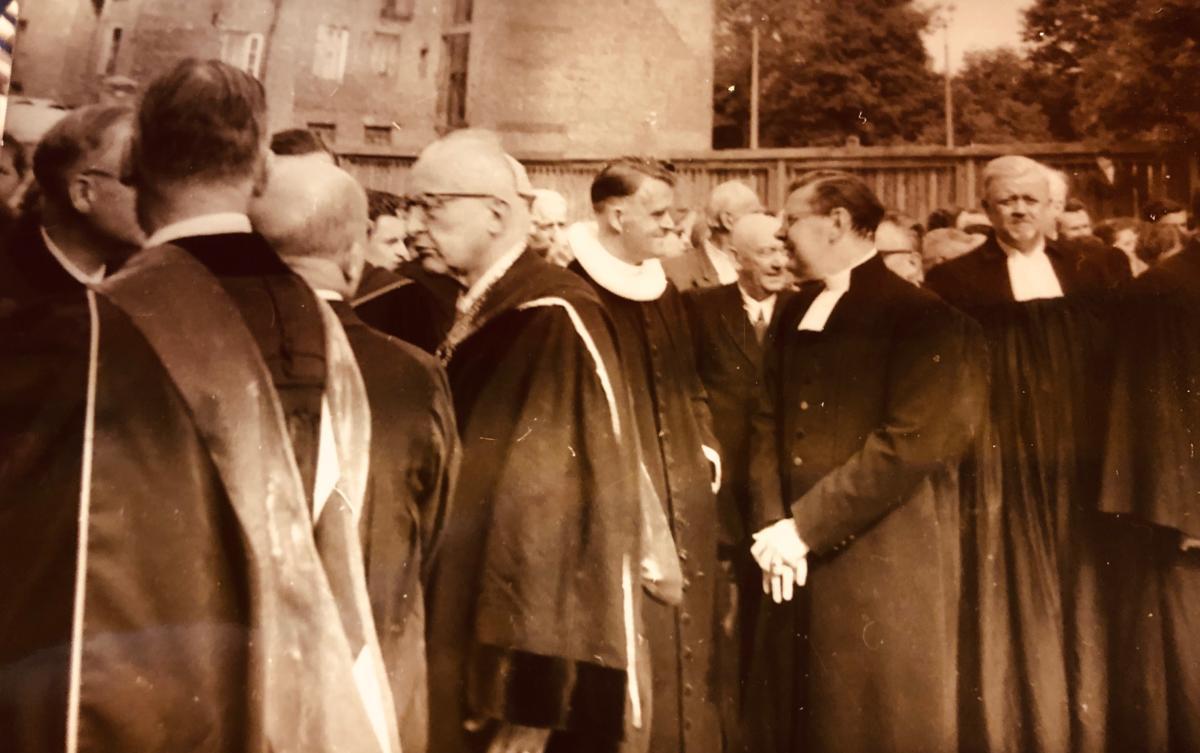 rekonsekracja kościoła Świętej Trójcy w Warszawie z udziałem ekumenicznych gości, m.in. ze ŚRK