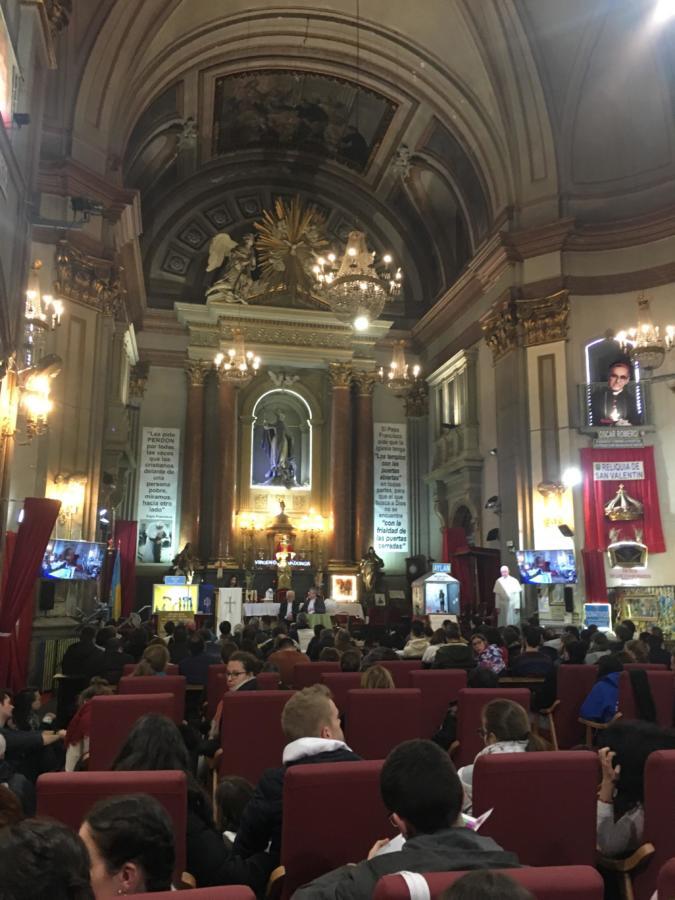 spotkanie w kościele św. Antoniego, fot. prywatna.