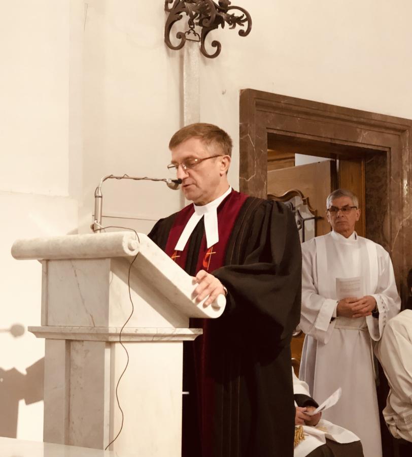 Centralne Nabożeństwo Ekumeniczne w Warszawie (2019) - kazanie bp. Andrzeja Malickiego