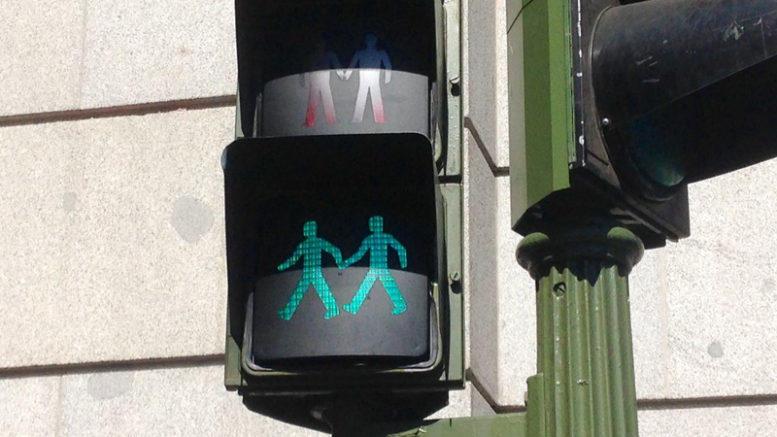 sygnalizacja świetlna w Madrycie