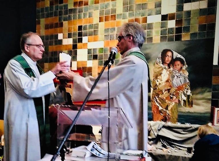 zakończenie nabożeństwa w Bethelkapel