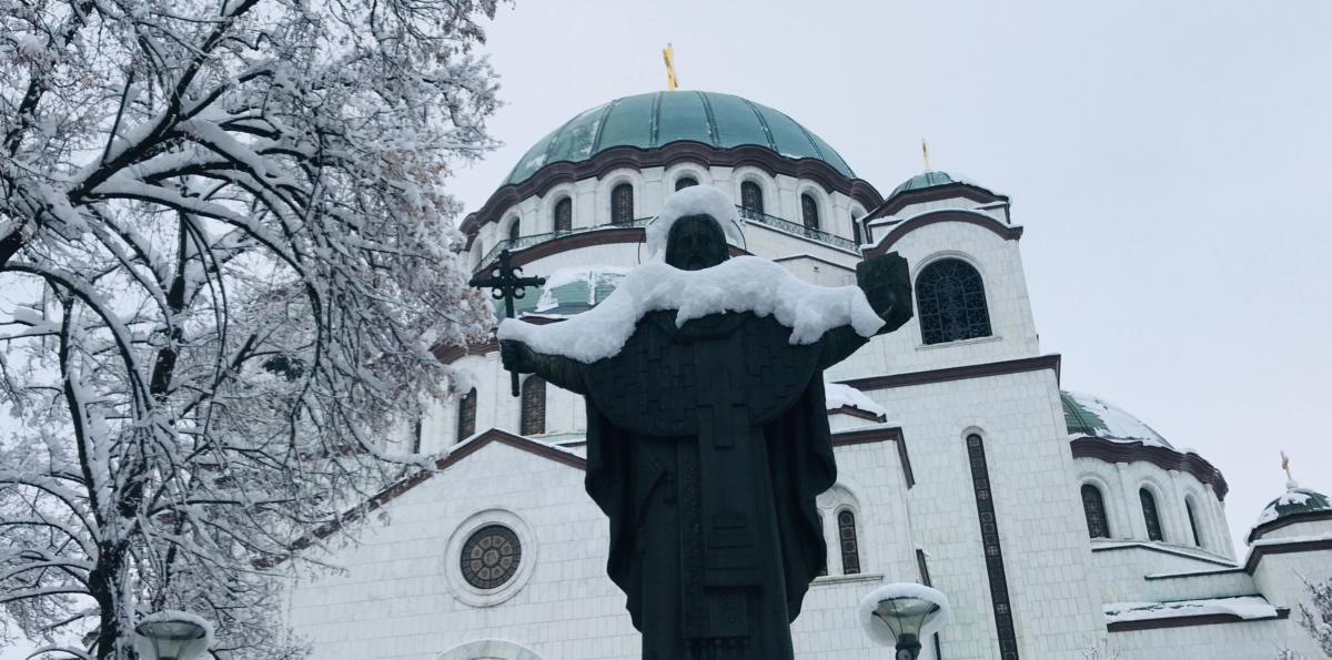 sobór św. Sawy w Belgradzie