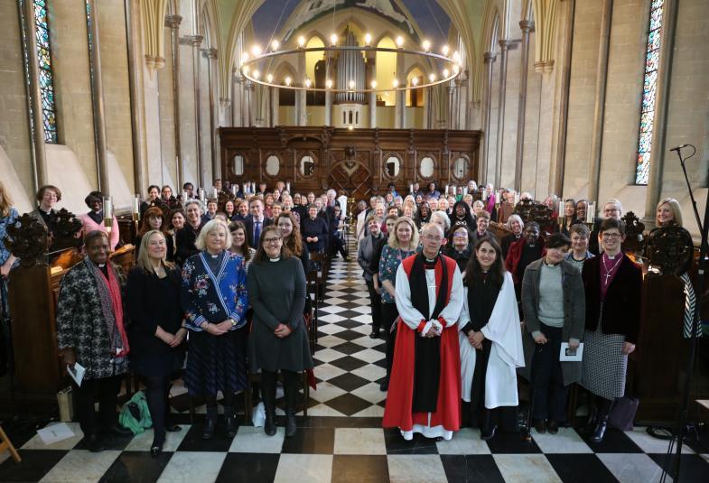 25-lecie kapłaństwa kobiet - Pałac Lambeth 1 marca 2019 r.