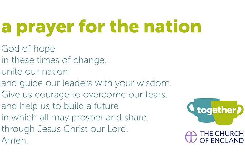 Together - a prayer for the nation
