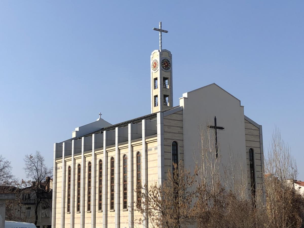 katedra rzymskokatolicka w Sofii