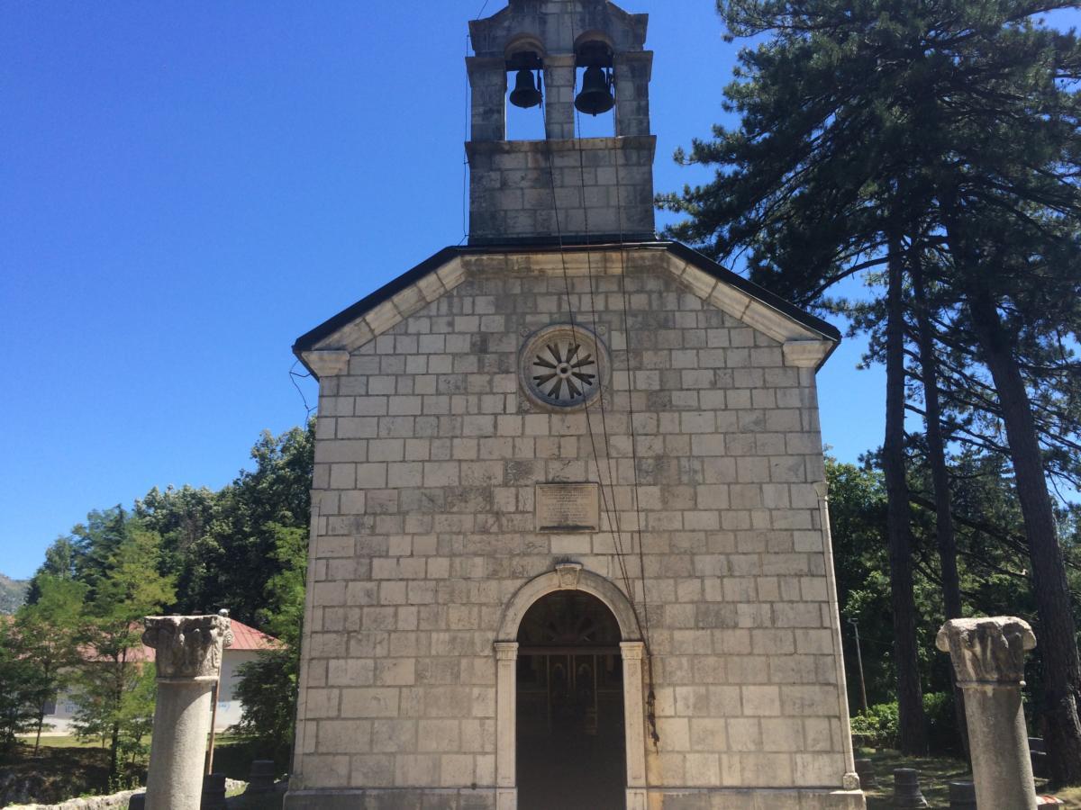 cerkiew prawosławna w Cetyni (Czarnogóra)