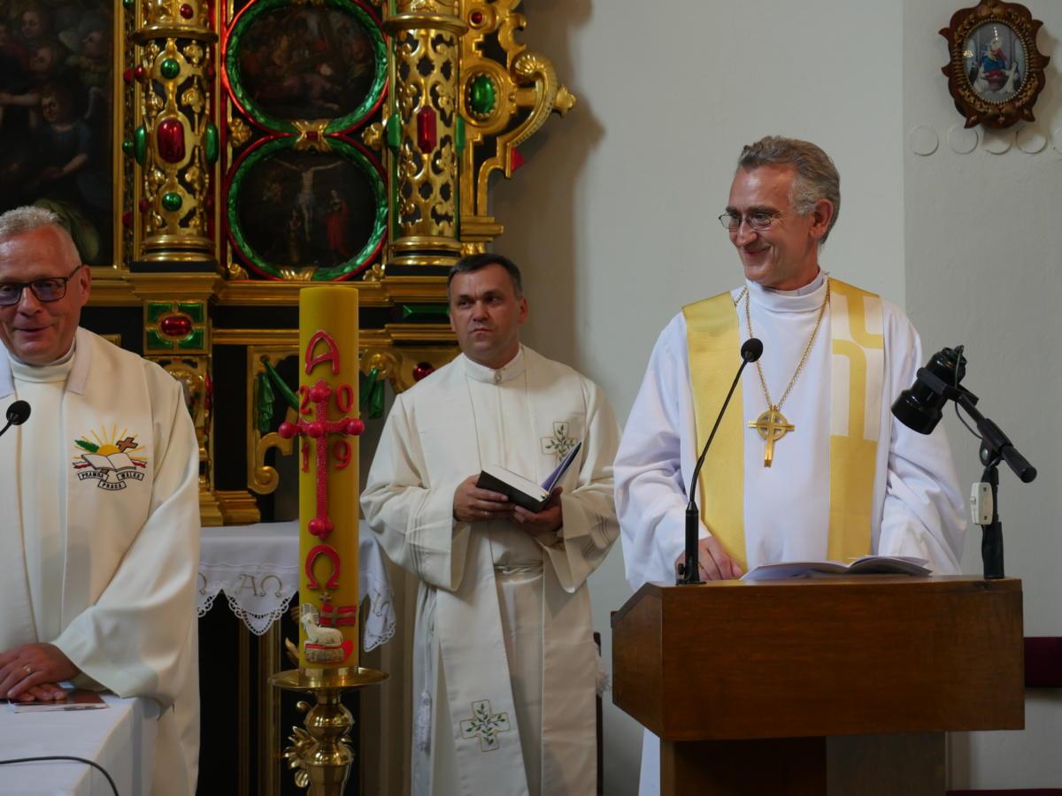 nieszpory starokatolickie w kościele św. Wojciecha w Lublinie
