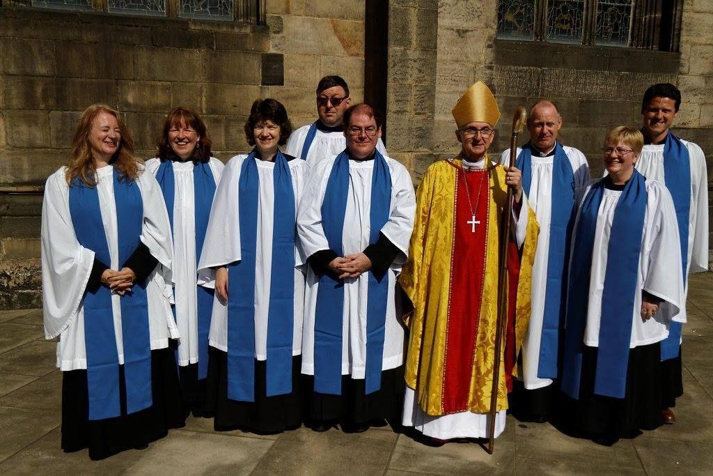 lektorki i lektorzy z Biskupem Worcester