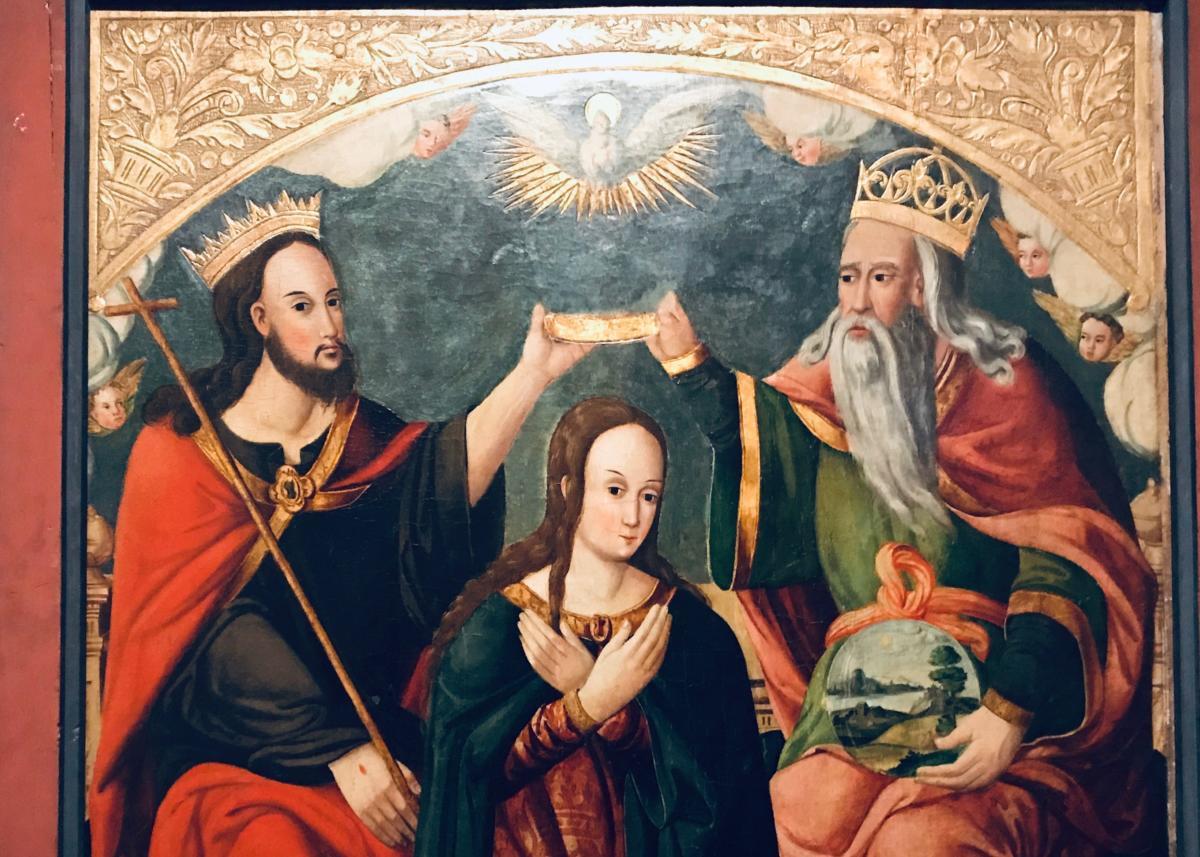 Maria koronowana przez Trójcę Świętą