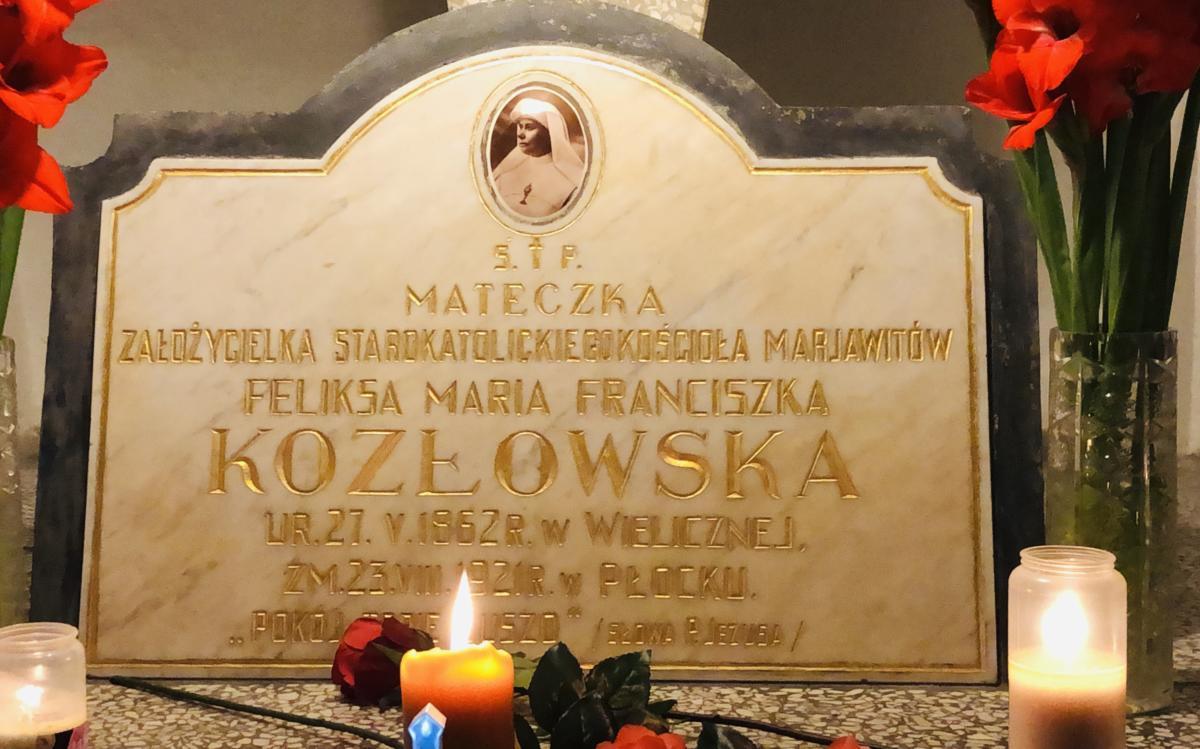 Grób św. Marii Franciszki Kozłowskiej