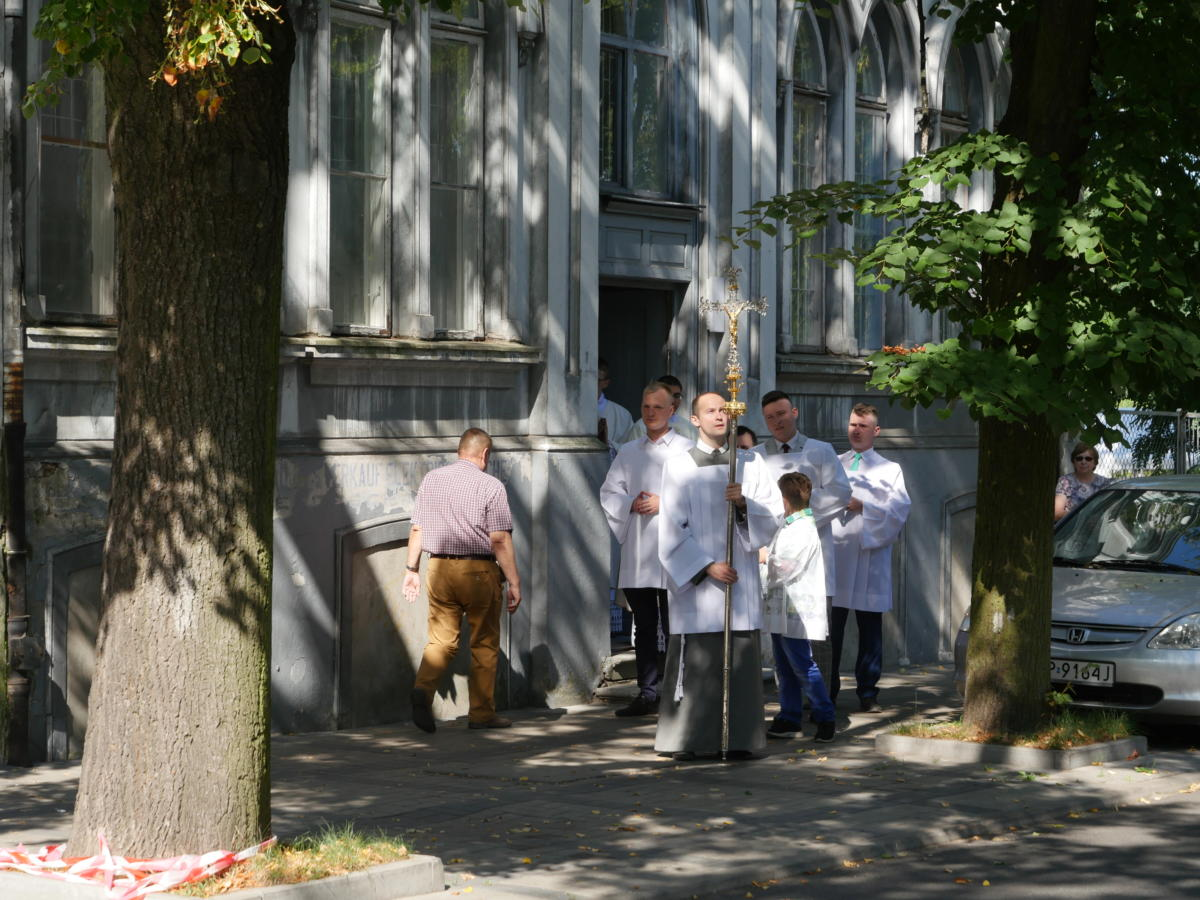 Świątynia Miłosierdzia i Miłości w Płocku - obchody Wniebowzięcia NMP 15 sierpnia 2019 r.
