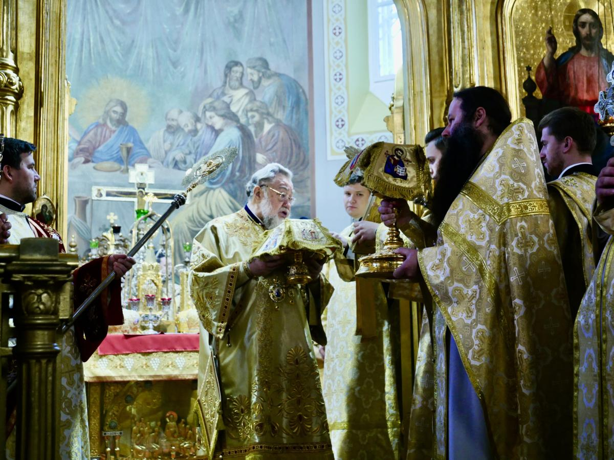 40-lecie chirotonii biskupiej metropolity Sawy (Hrycuniaka)