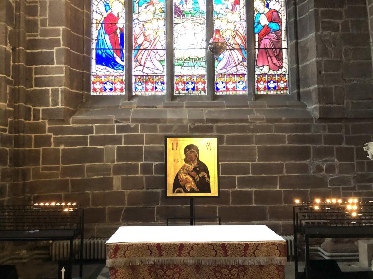 Boże Narodzenie - kaplica w katedrze bristolskiej