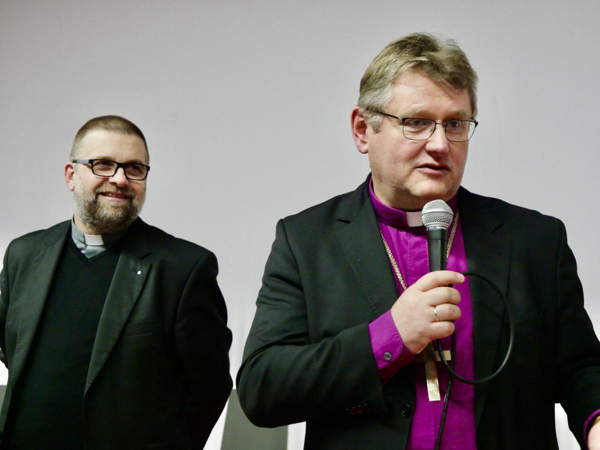 Europejskie Spotkanie Młodych Taize - Wrocław 2019 - ks. dr Grzegorz Giemza i bp Jerzy Samiec