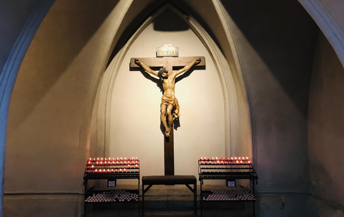 boczna kaplica w kościele św. Augustyna w Wiedniu