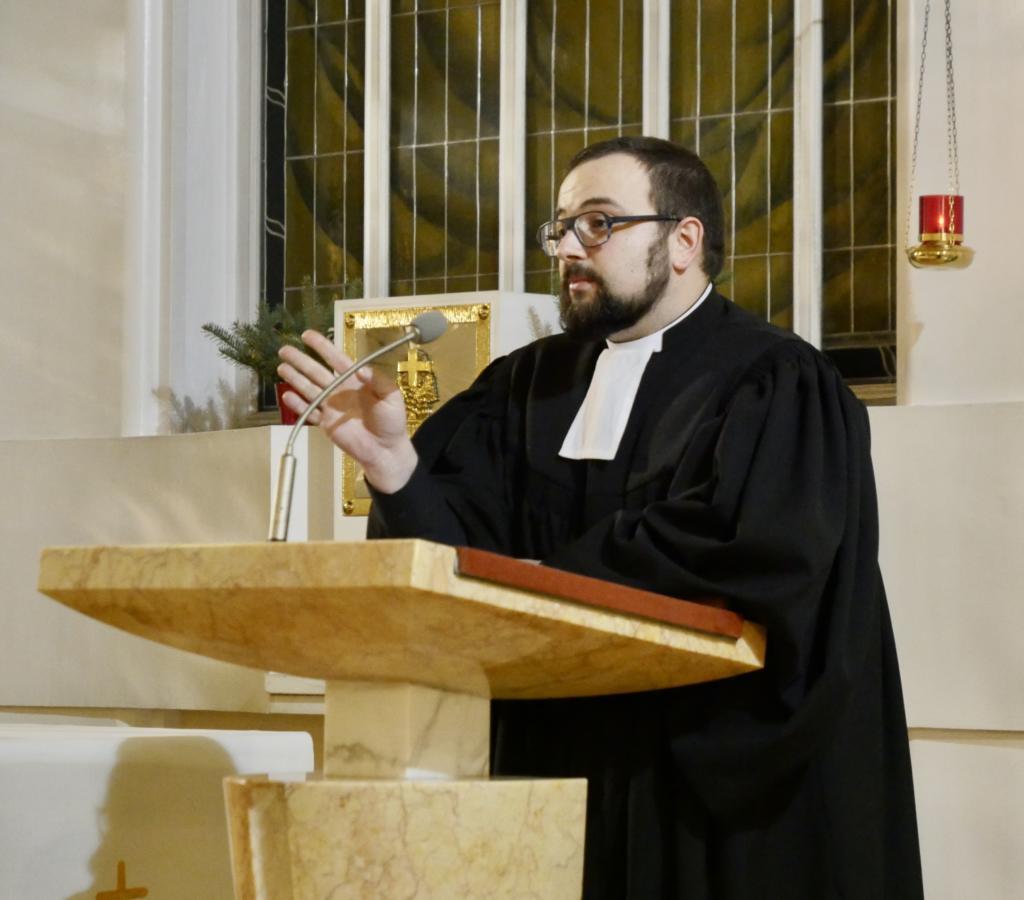 kaznodzieja: ks. Michał Koktysz (Kościół ewangelicko-reformowany)