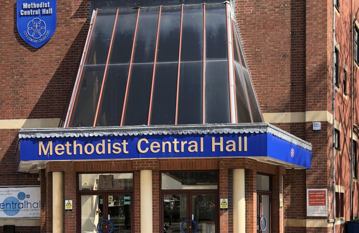 Methodist Central Hall w Coventry (UK)
