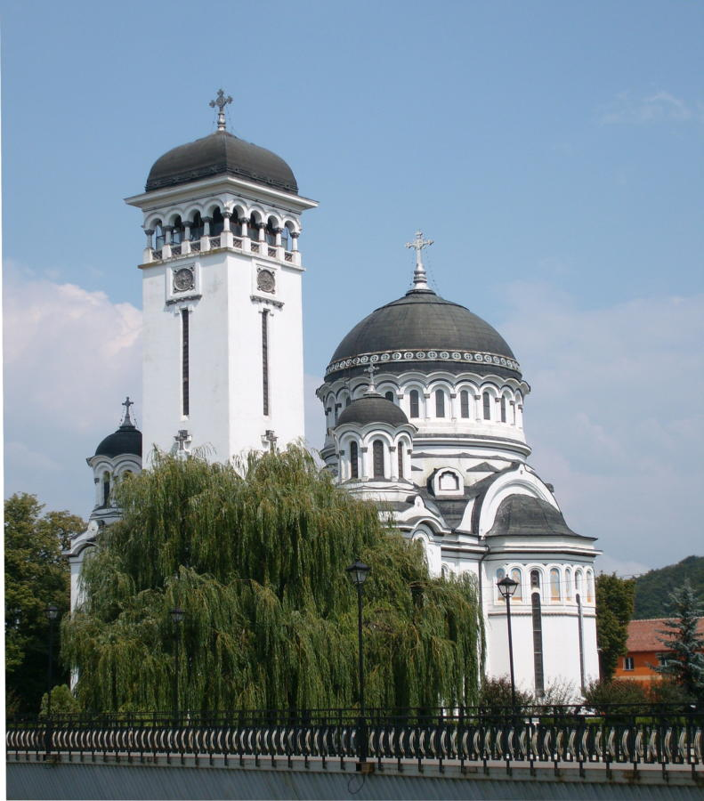 prawosławna Katedra Świętej Trójcy w Sighișoarze (Rumunia)