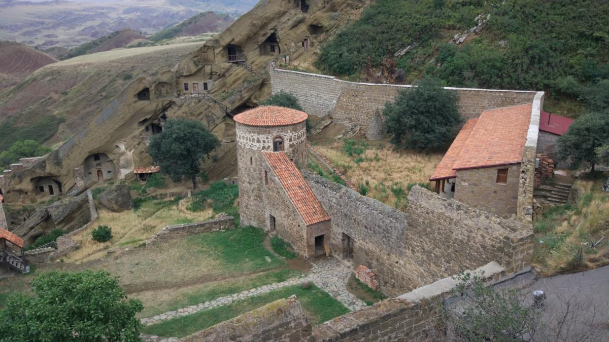 monastyr w Gruzji